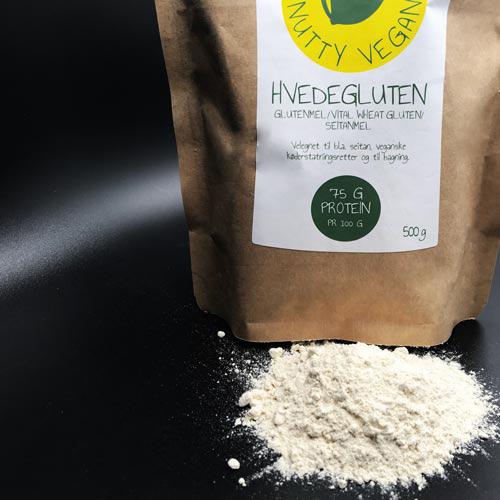 hvedegluten -seitanmel køb - nutty vegan