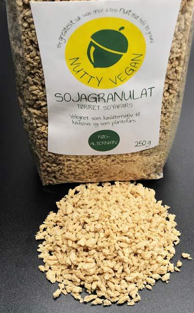 sojagranulat køb - Nutty vegan soya fars