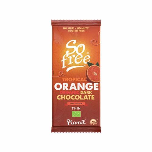 so free plamil chokolade med orangesmag