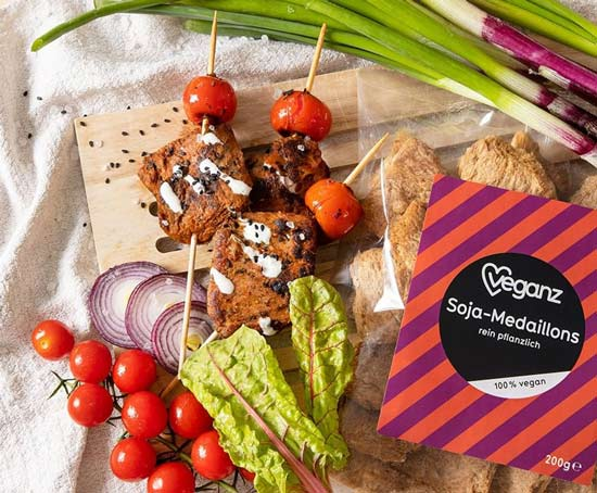 soja kød køb - soja stykker veganz