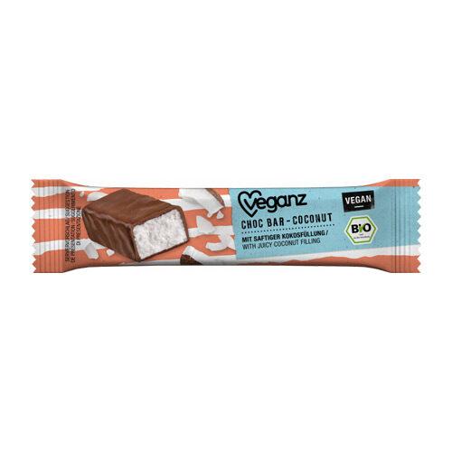 vegansk chokoladebar med kokos køb