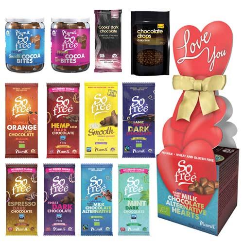 vegansk mørk chokolade køb