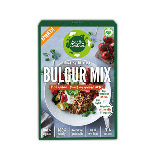 veggie bulgur mix Earth control - køb online