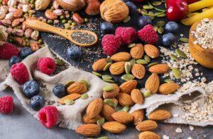 nødder og nøddeblandinger