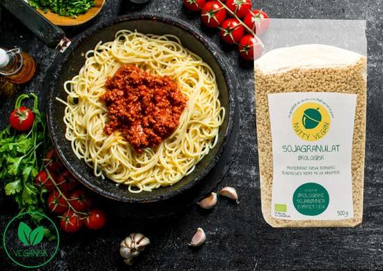 vegansk kødsovs opskrift vegansk spaghetti med kødsovs