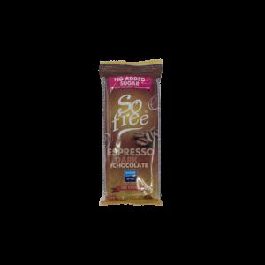 vegansk kaffechokolade mini bar tilbud