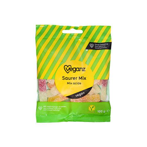 vegansk vingummi køg - sour mix veganz