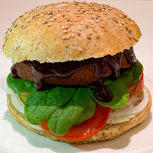 vegansk burger ospkrift veganske bøffer af hvedegluten