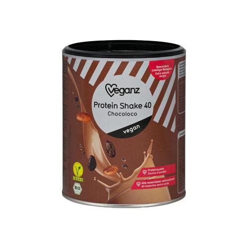 vegansk proteinpulver med chokolade smag veganz