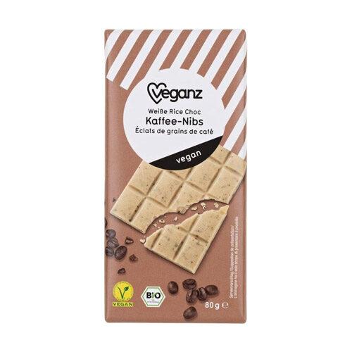 hvid vegansk chokolade køb