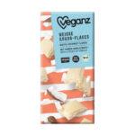 hvid vegansk chokolade med kokos Veganz