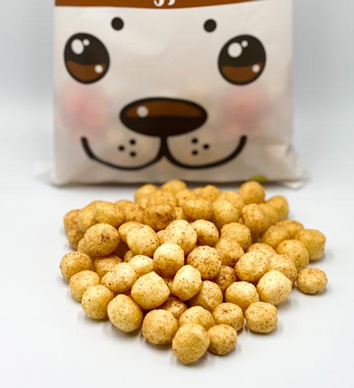 hirsekugler med peanuts - nutty vegan biorganik