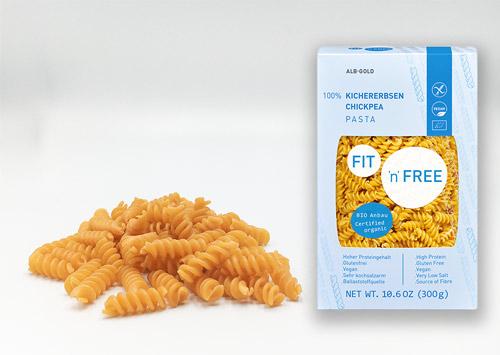 kikærtepasta køb - økologisk vegansk pasta