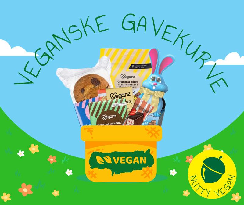 vegansk gavekurv og gavekort til veganske produkter