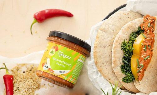 vegansk spread køb - veganz hamp spread