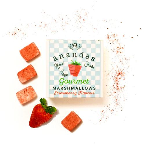 anandas gourmet marshmallows - veganske skumfiduser