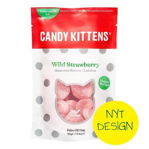 candy-kittens-danmark-wild strawberry- vegansk vingummi