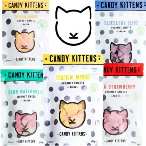 candy kittens tropical mango vegansk vingummi køb online