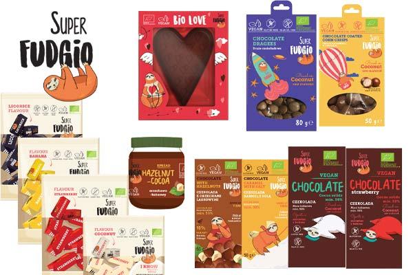 super fudgio vegansk slik køb online