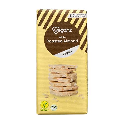 vegansk hvid chokolade køb online - Veganz chokolade med mandler