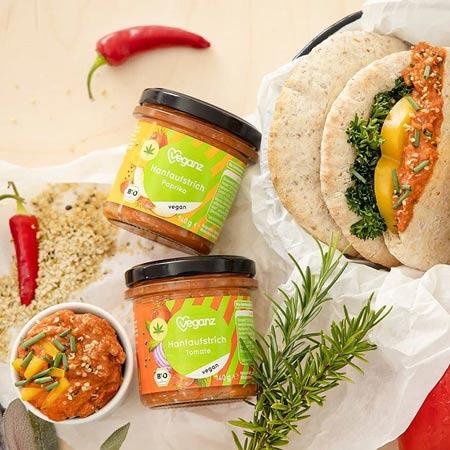vegansk spread køb online - veganz tomato hemp spread