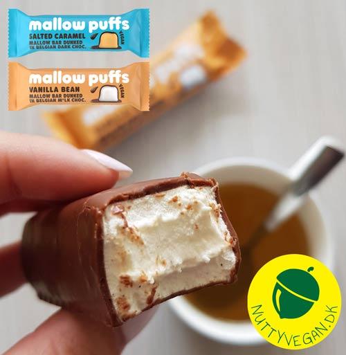 veganske marshmallows køb - mallow puffs bars køb i danmark