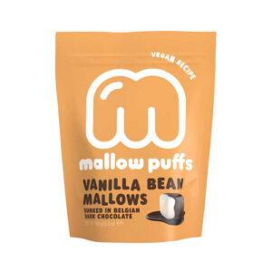 veganske skumfiduser køb - vegan mallow puffs med chokoladeovertræk