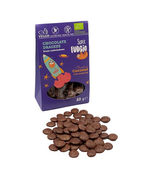 veganske smarties - veganske chokoladeknapper