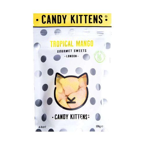 Vegansk vingummi candy kittens mango