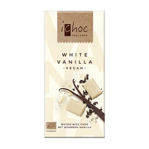 ichoc hvid vegansk chokolade køb online