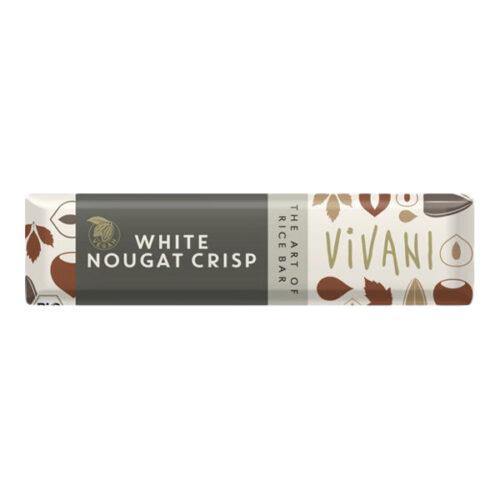 vegansk hvid chokolade køb online vivani white nougat crisp vegan