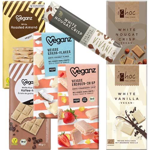 vegansk hvid chokolade - køb online