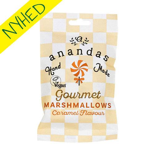 veganske skumfiduser med karamel - anandas marshmallows caramel