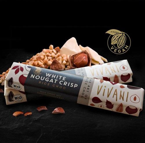 vivani vegansk chokolade - vegansk hvid chokolade vivani køb online