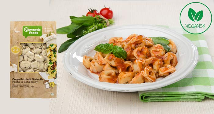 vantastic foods cappalletti - køb - vegansk tortellini