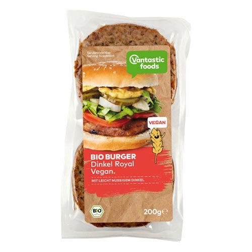 vegansk burger køb online - vegansk speltburger