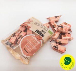 vegansk fudge køb online - veganske toffee karameller super fudgio