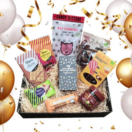 vegansk gavekurv - fødselsdagsgave til veganer