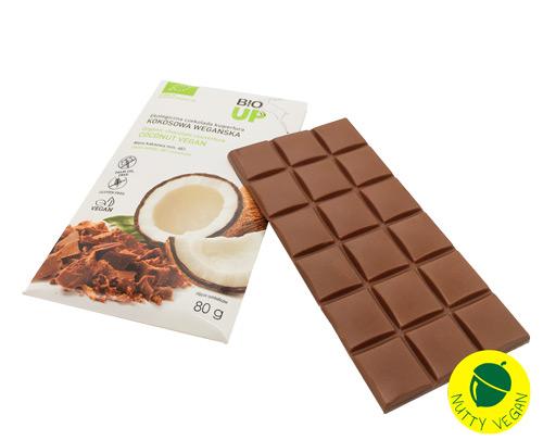 vegansk mælkechokolade køb online - super fudgio chokolade