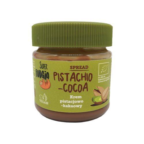 vegansk nutella med pistacie super fudgio køb online