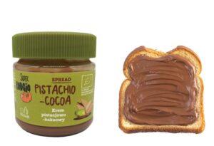 vegansk nutella - super fudgio pistacie spread