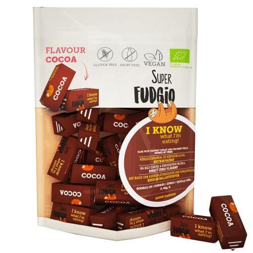 veganske-chokoladekarameller-køb-online---super-fudgio-cocoa-fudges