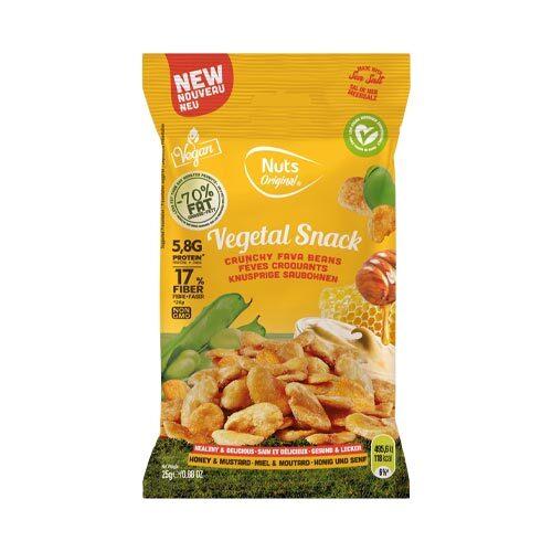 veganske snacks - køb online - ristede favabønner