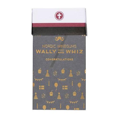 wally and whiz gaveæske til student med rød studenterhue køb