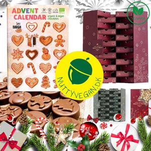 vegansk julekalender køb online - tilbud