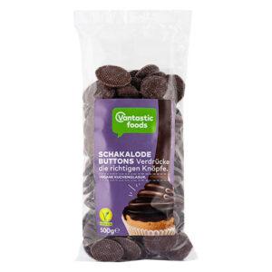 vegansk overtrækschokolade i knapper køb online
