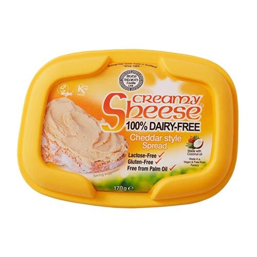vegansk smøreost køb - creamy sheese