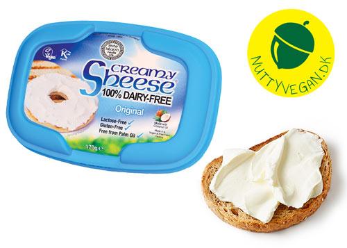 vegansk smøreost køb online - creamy sheese original