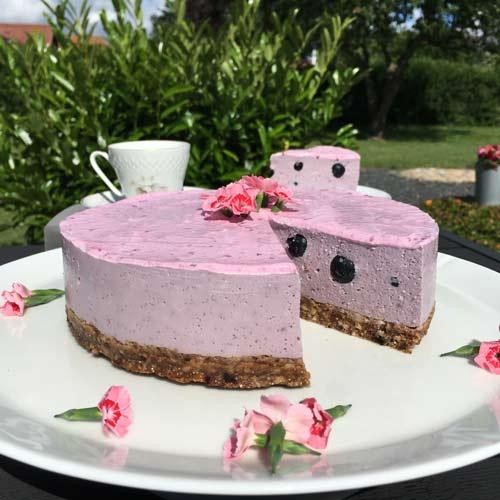 vegansk tærte dessert opskrift med agar agar pulver