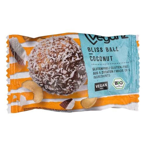 veganz bliss ball køb i dabnmark - veganske snacks
